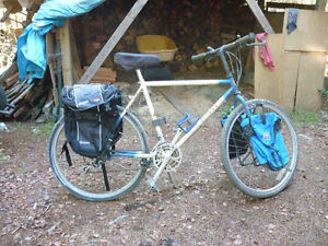 Front and Rear Large Bicycle Bags and Rack (Barely Used)