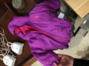North face spring jacket gap snowsuit, like new 0-6 months