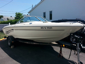 Bateau Sea Ray 182 BR (excellente condition) non-négociable