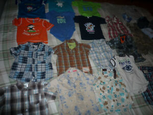 Lot of baby boy clothes 12-24months