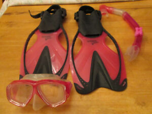 Ensemble Speedo masque, tuba et palmes junior