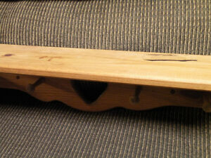 wood shelf with heart shape cut out Cornwall Ontario image 2