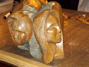 soapstone carving repairs native and inuit