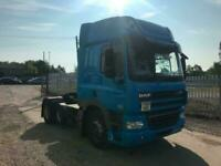 DAF CF 6x2 MID LIFT MANUAL TRACTOR UNIT WITH PTO, HYDRAULICS for sale  Wrexham