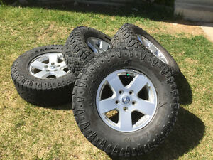 Ram 1500 stock rims with 2 sets of tires