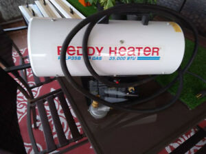 Reddy Construction Heater 35 Excellent Condition! 35000 BTU's