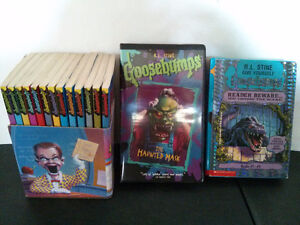 R L Stine Goosebumps Haunted School Boxed Set Haunted Mask VHS R
