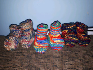 Handmade knitted items