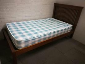 Large single bed