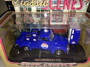 1953 Chevy 3100 Pepsi Cola Replica delivery truck and cooler
