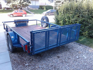 2015 6 foot by 10 foot utility trailer