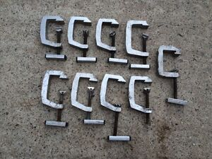 9 c clamps