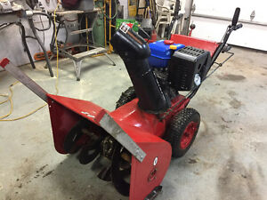 9HP snowblower new princess auto motor