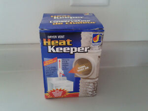 Dryer Vent Heat Keeper
