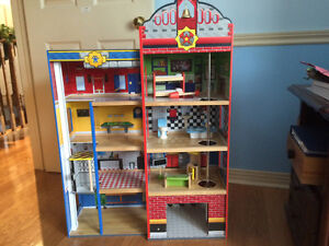 Fire station Toy House