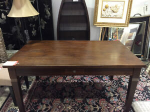 Brand New Wooden Brown Teak Table