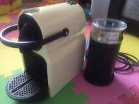 Nespresso Magimix and Aeroccino (plus extras)