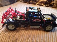 Lego technic Fred's garage tow truck