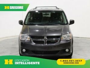2015 Dodge GR Caravan Crew Plus STOW'N GO MAGS CUIR NAVIGATION CAMERA