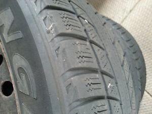 3 Winter Tires 1 All Season All on Rims Cambridge Kitchener Area image 3