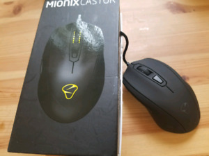 Gaming Mouse Mionix Castor Brand New Open Box