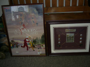 Olympic Poster &Or Golf Print in Frames-Your Choice