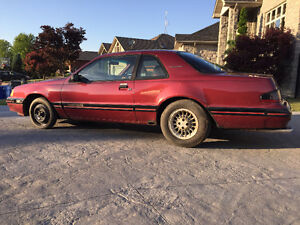 1987 Thunderbird Turbo Coupe - Project Car (Price Reduced)