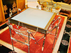Lucite & chrome chairs Kitchener / Waterloo Kitchener Area image 3