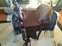"""18"""" Roping Saddle Complete  Package"""