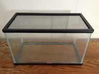 10 Gallon Fish Tank / Aquarium or Terrarium & Accessories