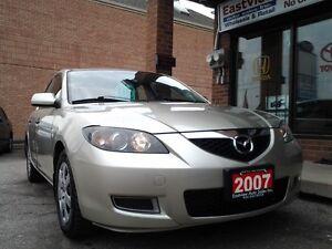 2007 Mazda Mazda3 NO ACCIDENT,AUTO,AIR,NAVIGATION,P/W,P/L.$3888