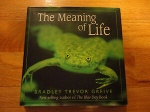The Meaning of Life Bradlet Trevor Greive Hardcover London Ontario image 1