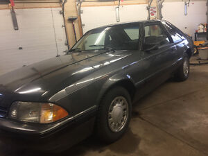 1989 Mustang LX 4cyl. Auto 96,172 orig kms!!