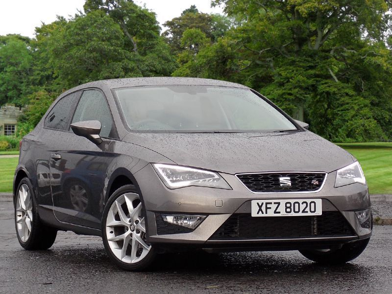seat leon 2 0 tdi fr tech pack sportcoupe 3dr start stop grey 2015 in county antrim. Black Bedroom Furniture Sets. Home Design Ideas