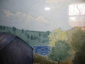 Co-Worker with Group of Seven,T. W. McLean, Original Watercolor Stratford Kitchener Area image 10