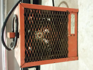 240 volt heater with thermostat