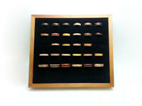 Wholesale - Hand Made Wood Rings w/ Display Handmade Jewellery