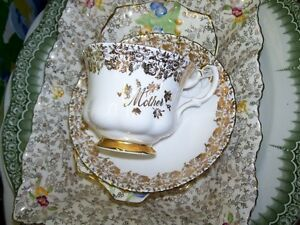 Tea Cups and Saucers from $6.50 each & upwards