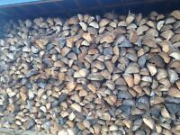 Split & Seasoned Spruce Firewood