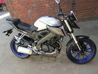 Yamaha mt125 abs breaking