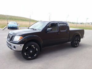 2009 Nissan Frontier SE 4x4 6-speed Manual