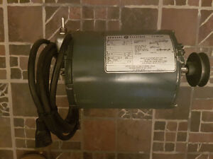 General Electric 1/3hp moteur electrique electric motor