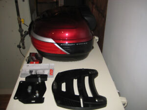 Luggage for motorcycle.  Givi Bag
