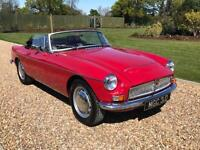 1968 MG MGC 3.0 CONVERTABLE, BLACK HOOD 2 DR