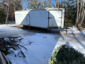 26' drive in/out cargo trailer