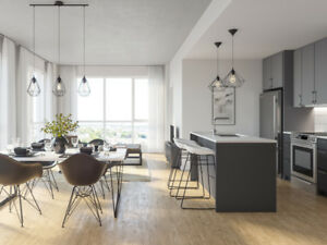 Condo Appartements neuf à louer (3.5) Griffintown-Marché Atwater