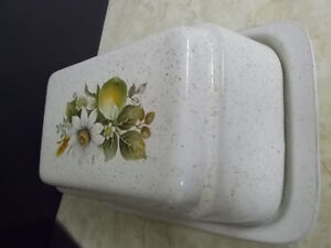 LARGE LIKE NEW BUTTER DISH