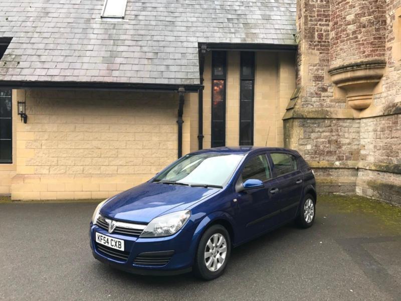2004/54 Vauxhall Astra 1.7 CDTi 16v 5 Door Hatcback Blue