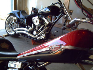 "Available Softail   2006 Texas Chopper 124""  3,900kms  $32,300"