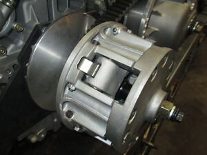 DIESEL ENGINE AND TRANSMISSION WITH CVT CLUTCHES V TWIN EV80 Prince George British Columbia image 3